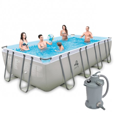 Piscina Passaat Grey 549 x 305 x 122cm