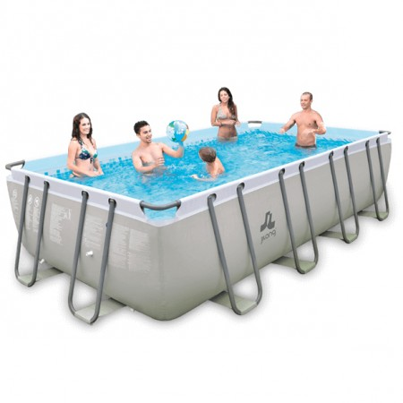 Piscina Jilong Grey 549 x 305 x 122cm