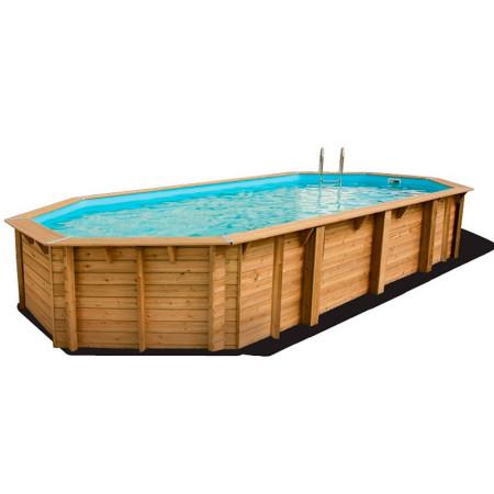 Piscina de madera 750 x 400 x 130 cm