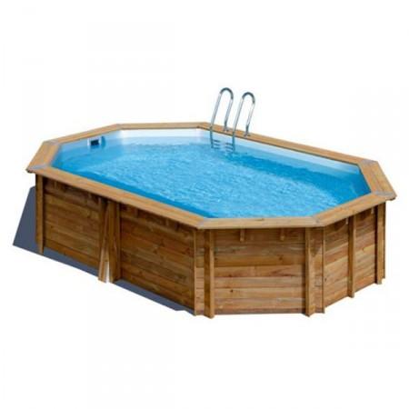 Piscina de madera modelo Camomille