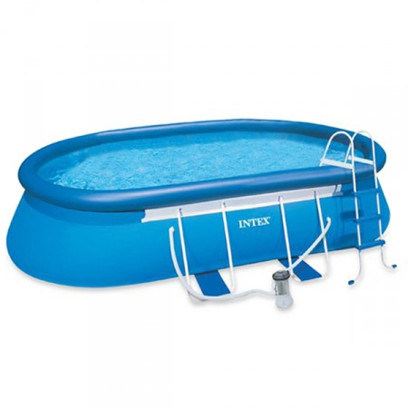 Piscina Oval Frame Intex 610 x 366 x 122