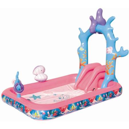 Piscinas Princesas Disney con Tobogan-1