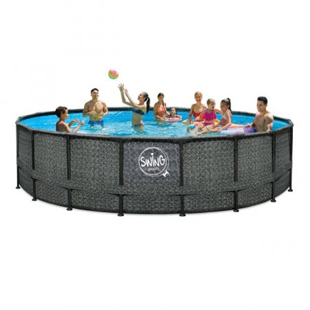 Piscina Elite Wicker Dark 549 x 132m