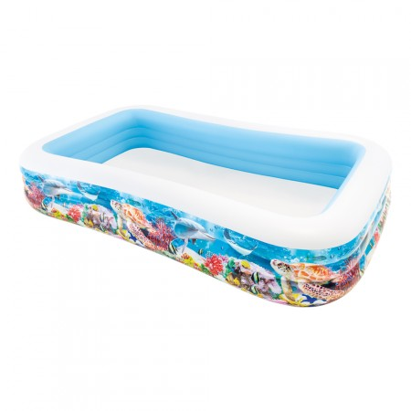 Piscina Intex Hinchable Tropical