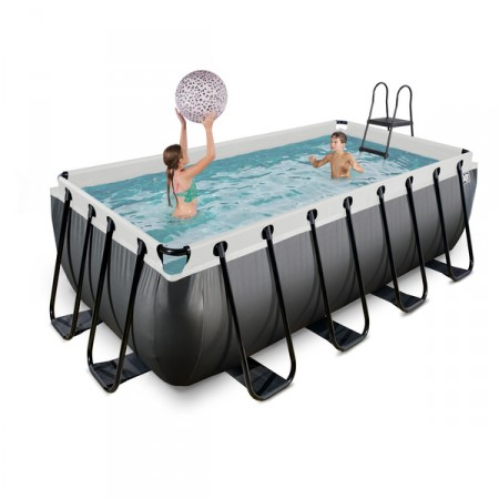 Piscina Black Limited rectangular 400x200x122cm