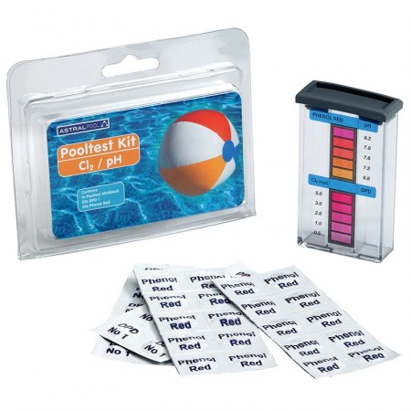 Pooltester Kit cloro libre y pH