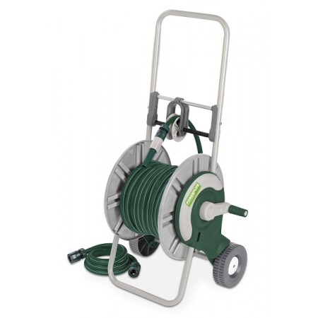 Portamangueras con ruedas 25m