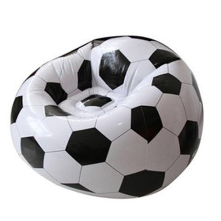 Puff hinchable balón de fútbol 1