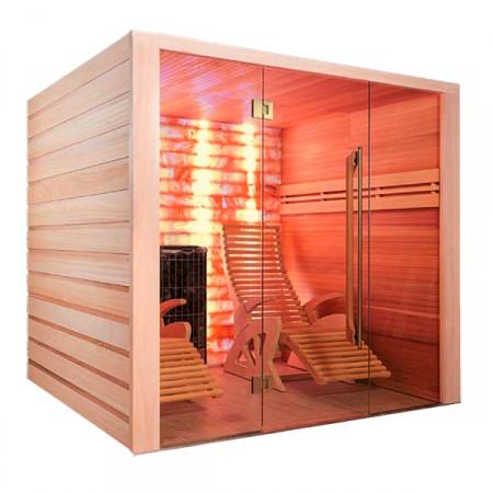 Sauna tradicional de vapor Alto Sel