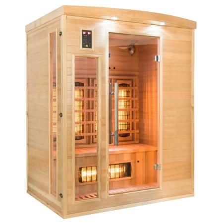Sauna Infrarrojos Apollon 3 Plazas