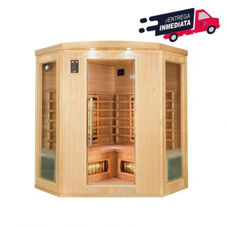 Sauna Infrarrojos Apollon Quartz 3/4 Plazas