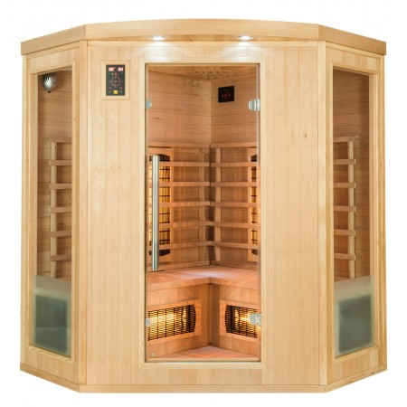 Frontal Sauna Infrarrojos Apollon 3/4 Plazas