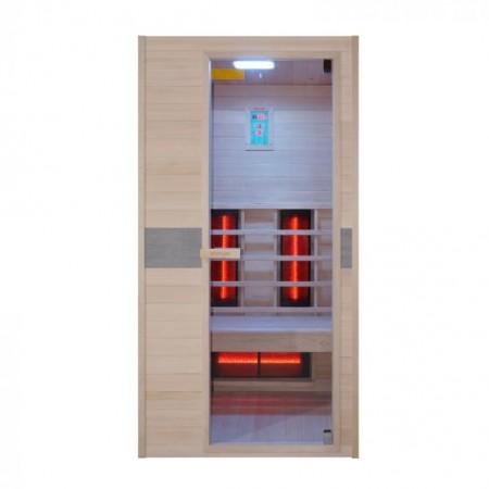 Sauna de infrarrojos Jade individual