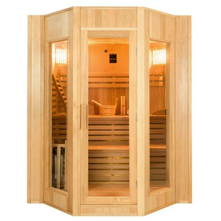 Frontal Sauna de Vapor Zen para 4 Personas
