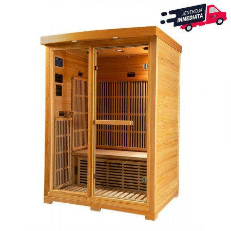 Sauna infrarrojos Zora entrega inmediata