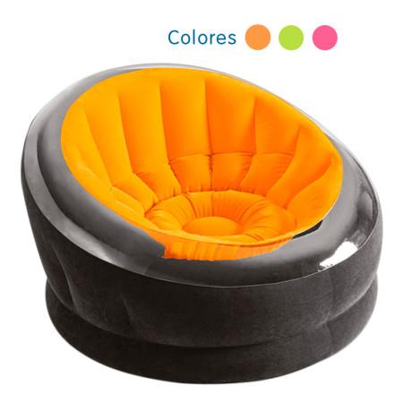 Sillón hinchable Empire Intex naranja