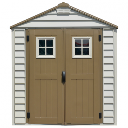 Caseta para exterior de PVC StoreMax 7 x 7