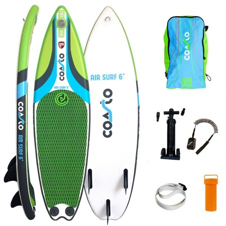 Tabla de Surf hinchable Air Surf 6 quillas fijas