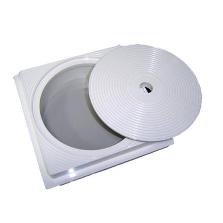 Tapa y aro cuadrado skimmer Astralpool 4402010106