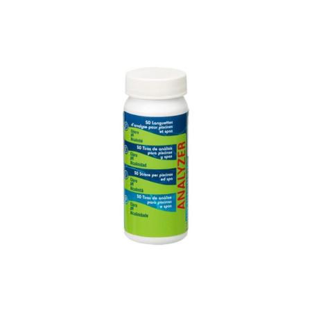 Análisis cloro + pH + alcalinidad