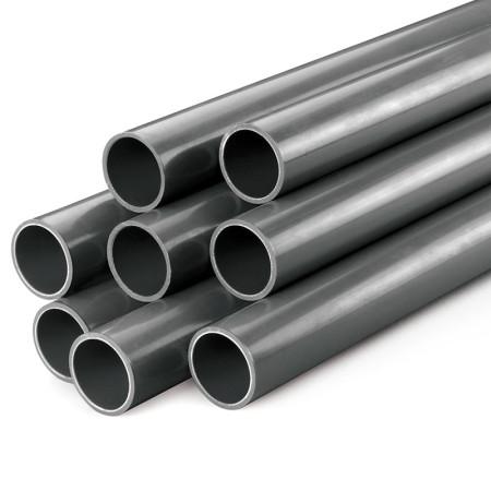 Tubo de presión de PVC PN16 gris rígido D25-D160