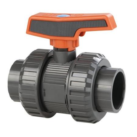 Válvula de bola STD PVC-U Teflón®-EPDM encolar