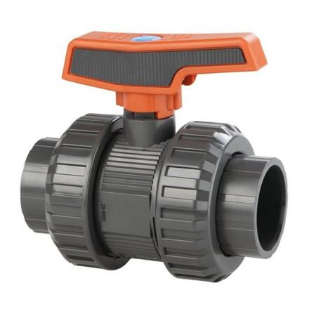 Válvula de bola STD PVC-U Teflón®-EPDM roscar