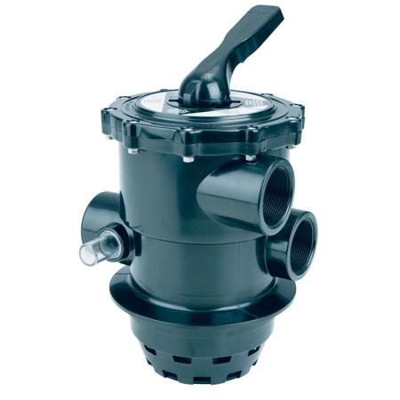 "Válvula Top gas negra 2"" filtros Astralpool 22490"