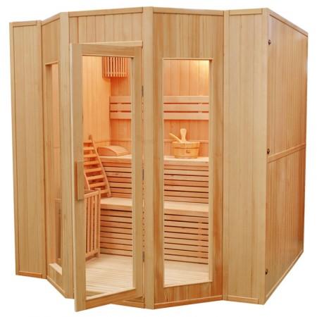 Sauna de Vapor Zen - 4 Personas