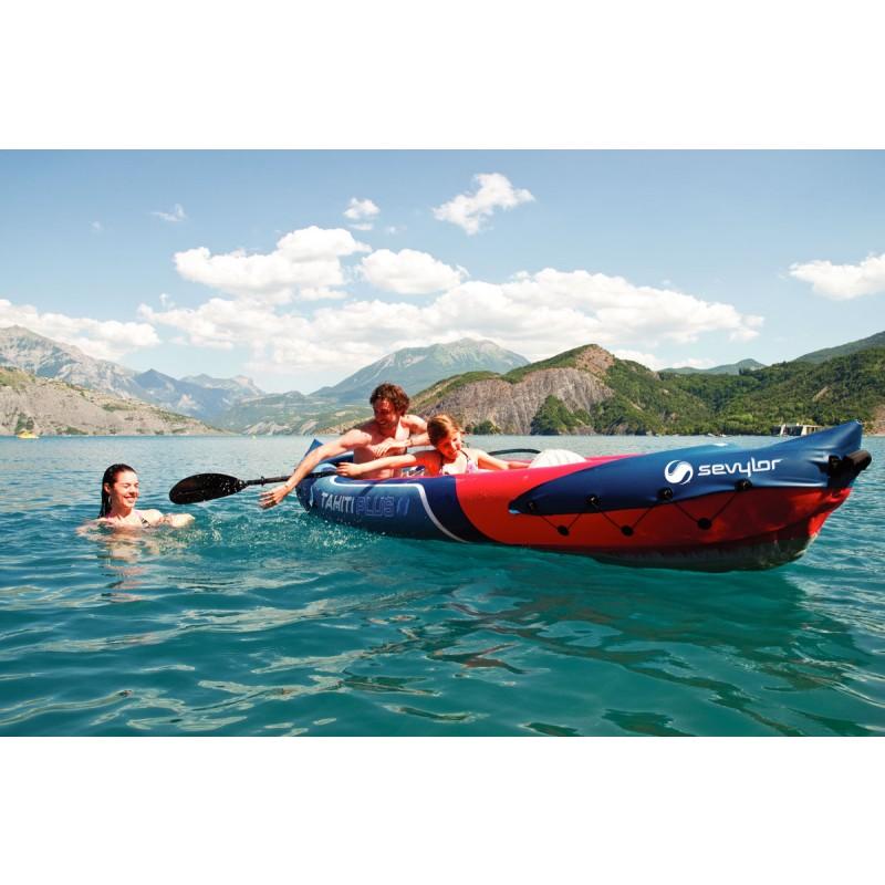 Kayak hinchable tahiti plus outlet piscinas for Piscina canoe