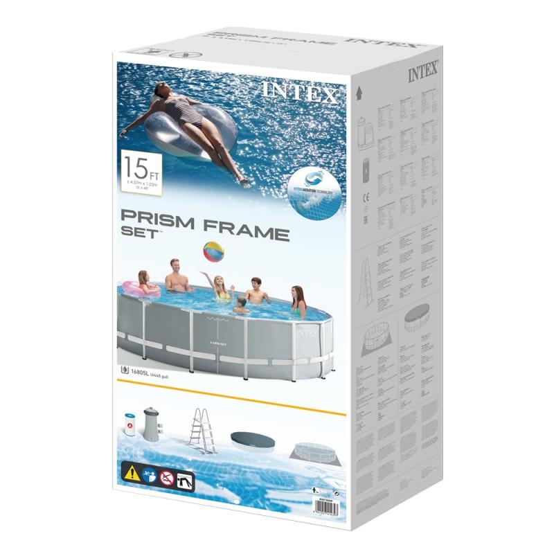 Piscina Intex Prisma frame 457x122cm caja