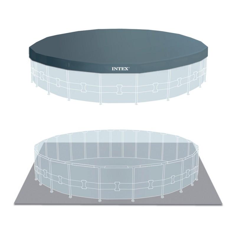 Cobertor y tapiz de suelo piscina Intex
