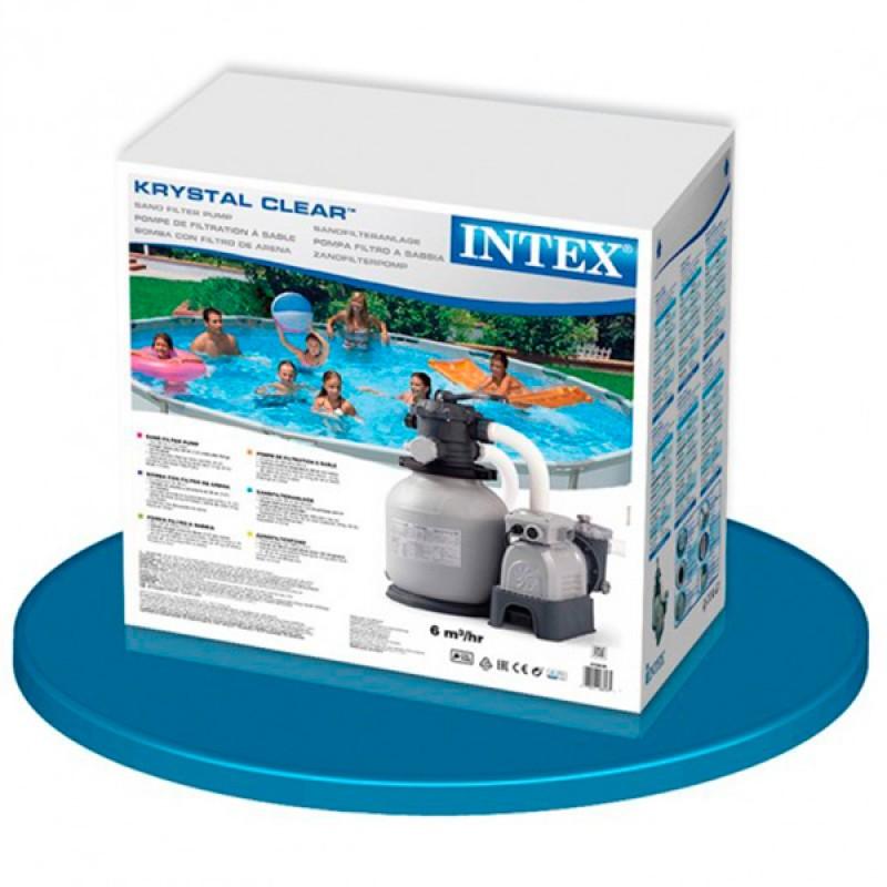 Caja Depuradora INTEX de Arena Krystal 7900 l/h