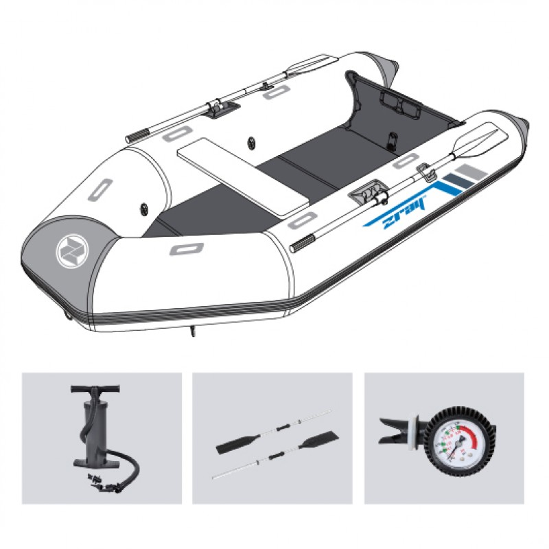 Barca Hinchable Z-Ray Ranger 400 jilong