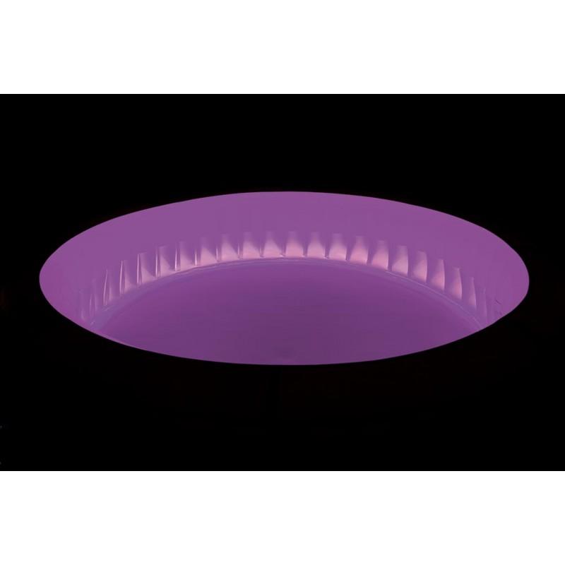 Spa Hinchable Paris iluminación LED Violeta