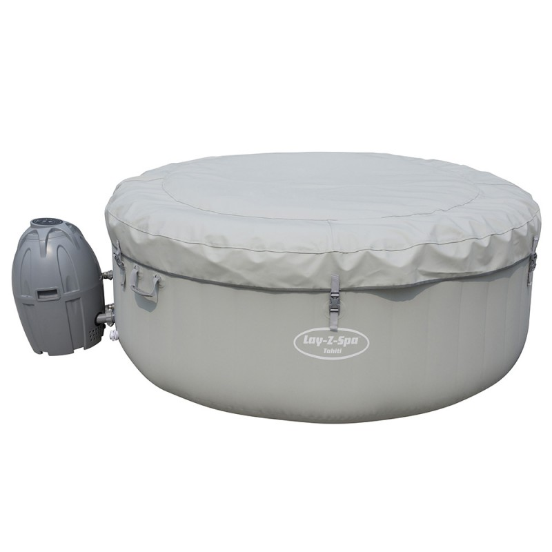Spa Hinchable LAY-Z-SPA Tahiti Airjet Bestway con cubierta