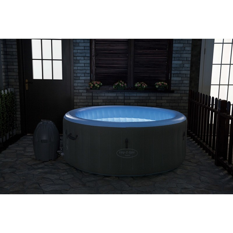Spa Hinchable LAY-Z-SPA Tahiti Airjet Bestway luz led