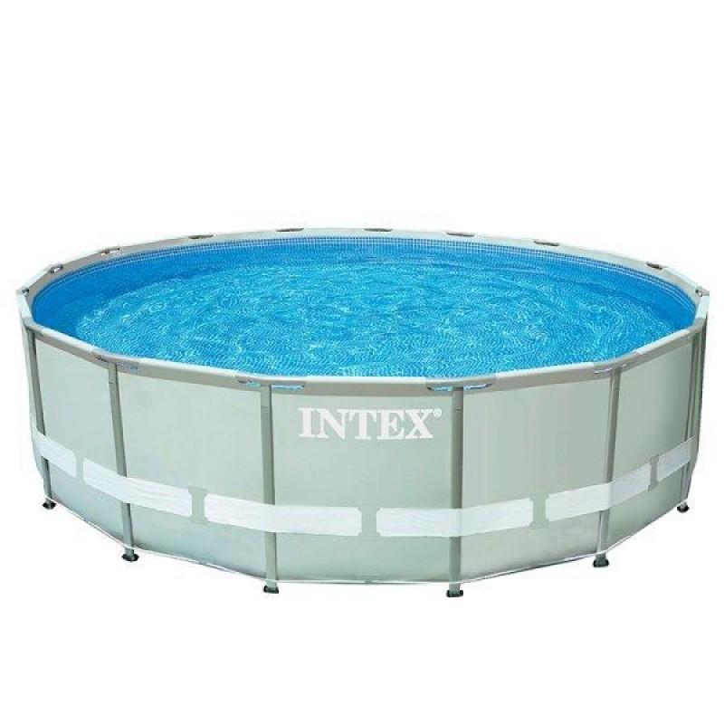 Piscina ultra frame 427 x 107cm intex outlet piscinas for Outlet piscinas