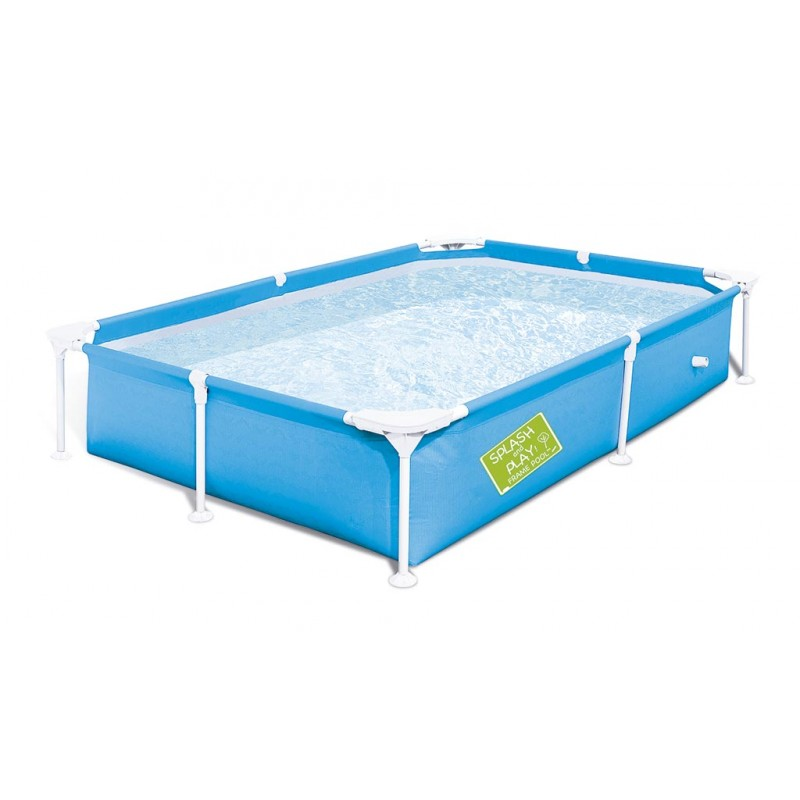 Piscina my first frame pool 221 x 150 x 43 - 1200 litros Azul