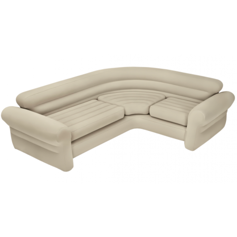 Sofa hinchable rinconera 257 x 203 x 76 cm de intex for Sofa rinconera exterior