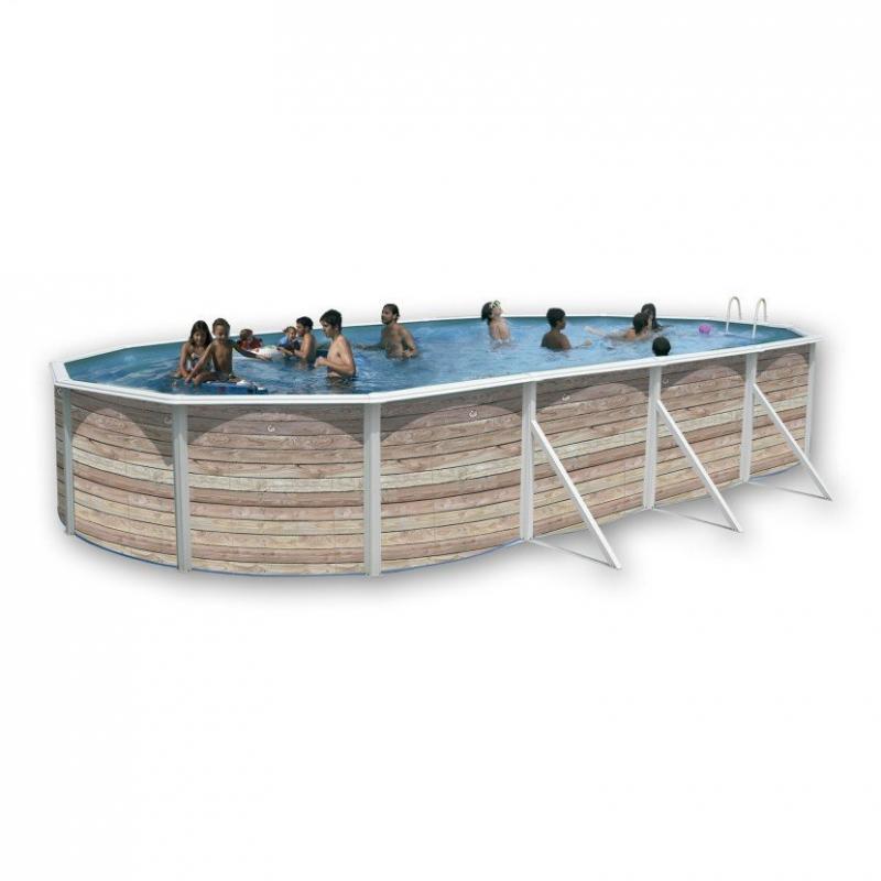 piscina pinus ovalada de toi outlet piscinas