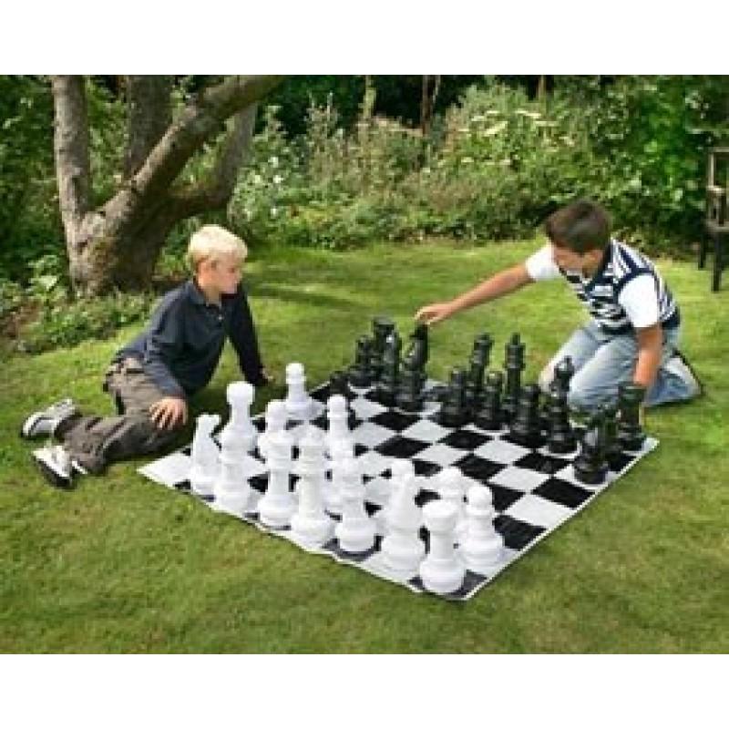 Juego de ajedrez para jard n outlet piscinas for Ajedrea de jardin