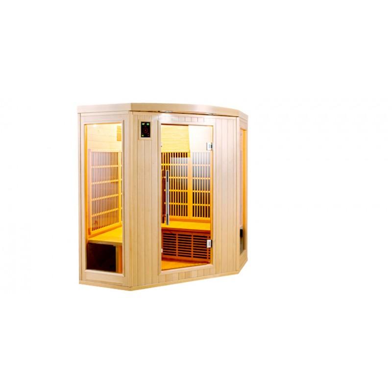 Sauna Infrarrojos Apollon 3/4 Plazas