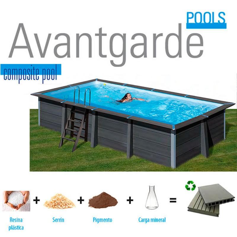 Composite Avantgarde Rectangular