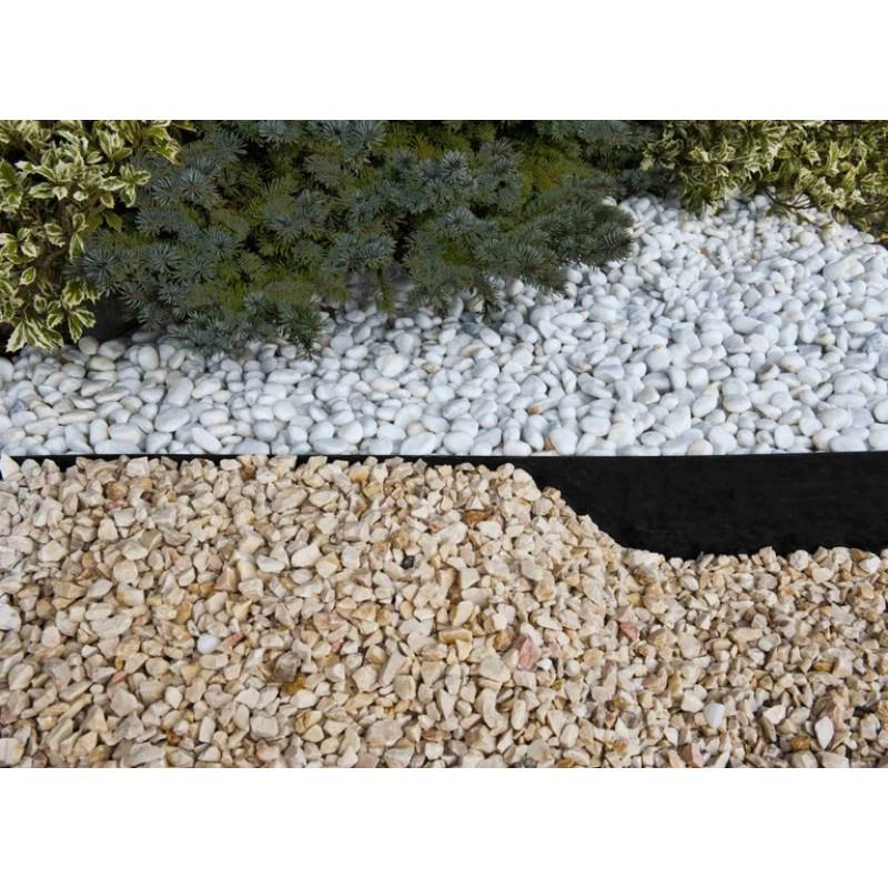 Bordura flexible de jardín Negra