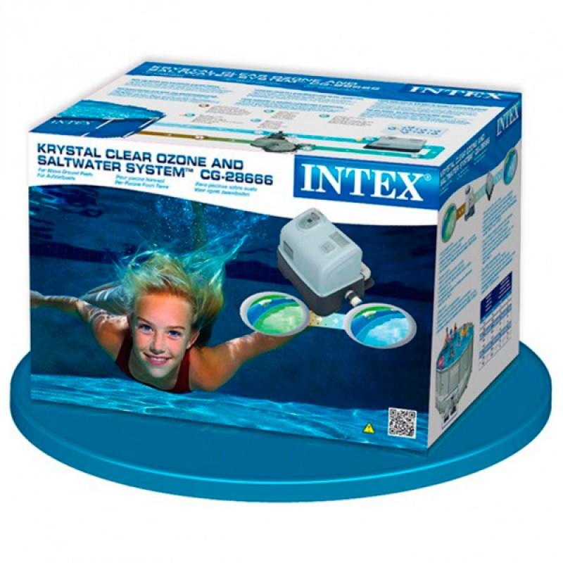 Sistema de ozono y cloro intex outlet piscinas for Ozono para piscinas