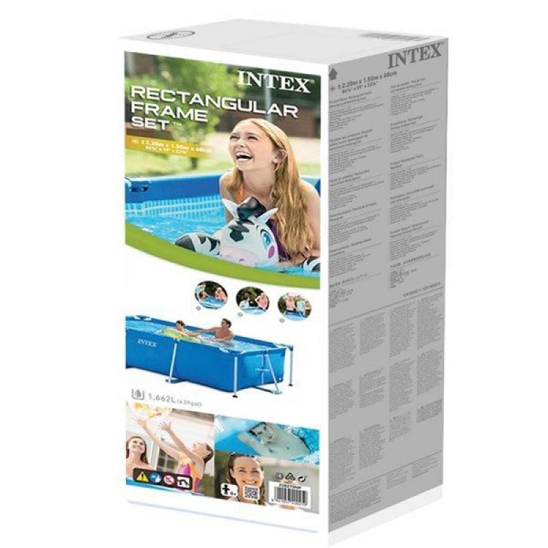 Piscina Small Frame Intex caja