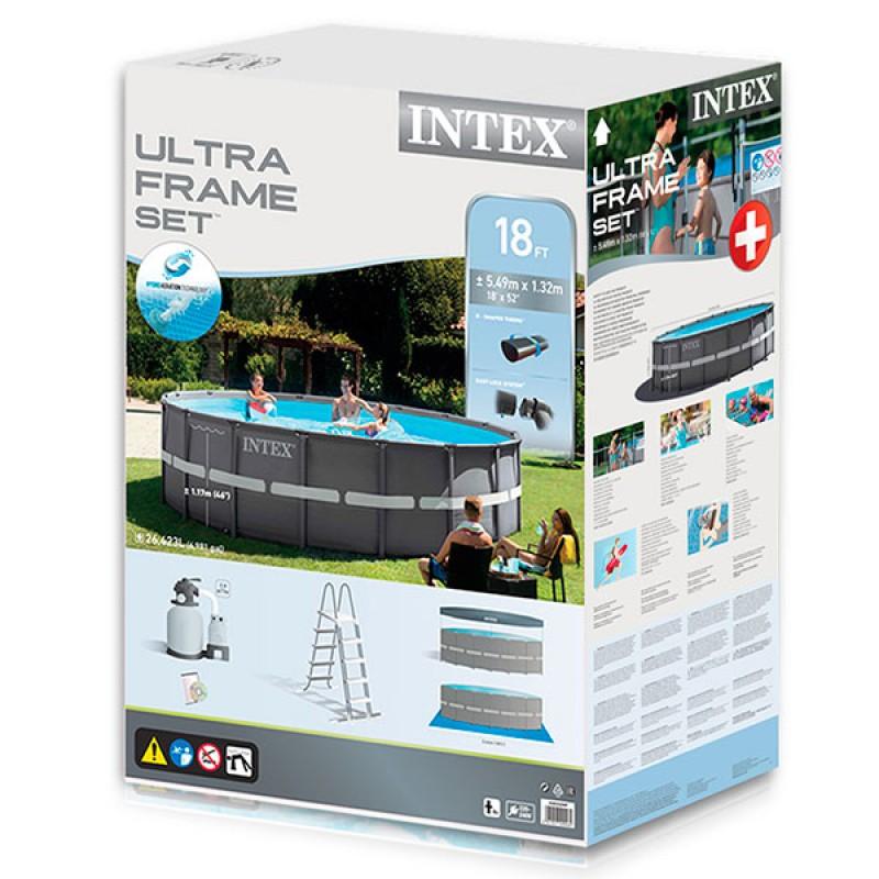 Caja Piscina Ultra Frame Intex 549 x 132