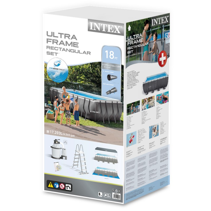 Caja Piscina Intex Ultra Frame Arena 549 x 274 x 132