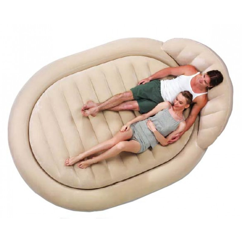 Cama aire doble royal round
